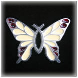 """Christian Butterfly"" Ornaments"